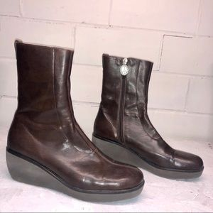 Donald J. Pliner Wedge Boots Size 9.5